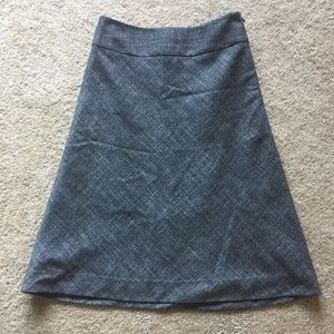 The Limited XS Classic Charcoal Gray Skirt